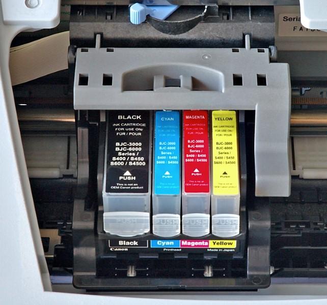 Rašalinės kasetės